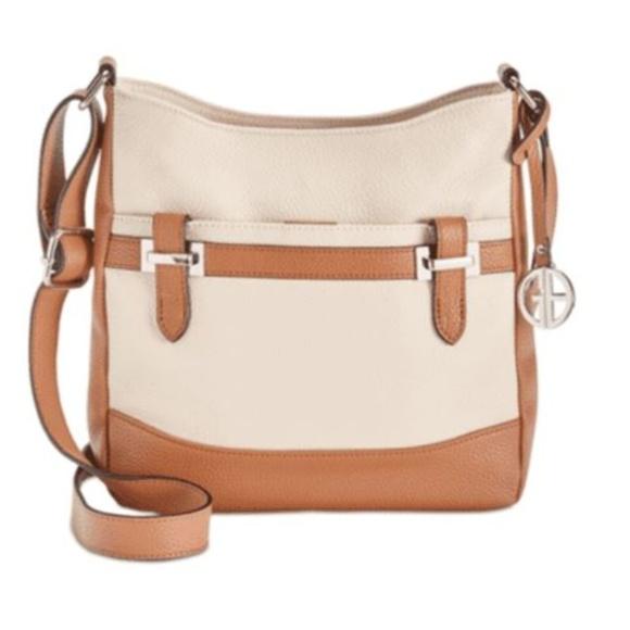 Giani Bernini Handbags - Giani Bernini Pebble Leather Hobo
